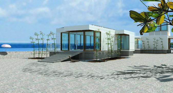 Prefab beach house designs