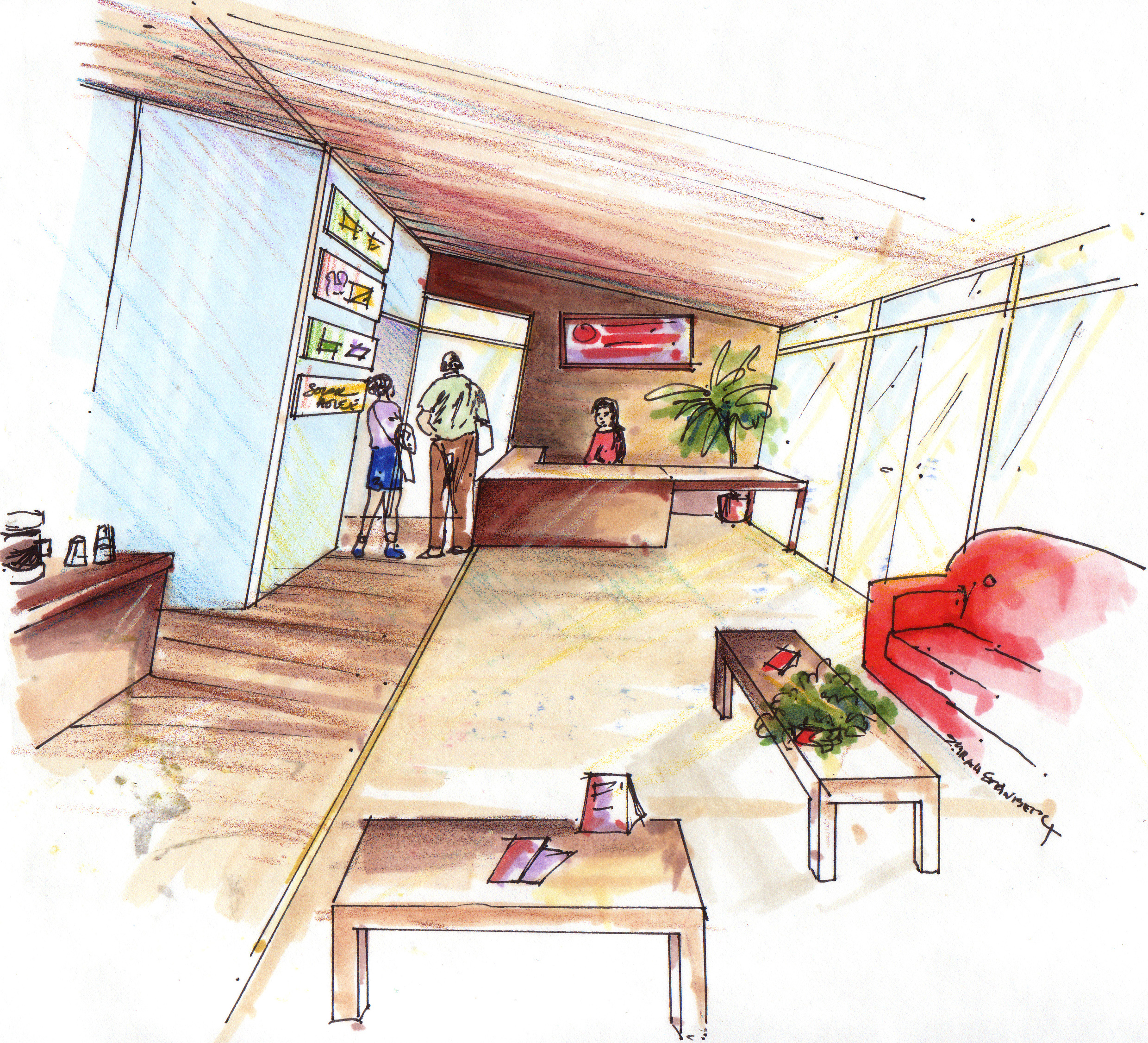 Solar Decathlon interior